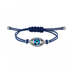 施华洛世奇/Swarovski Swarovski Power Collection Evil Eye 手链  蓝色  不锈钢 5551804